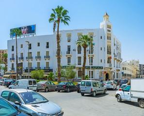 Fotobehang Algerije Modern architecture of Sfax, Tunisia