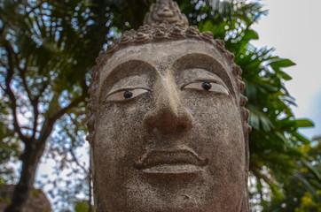 アユタヤ遺跡 仏像