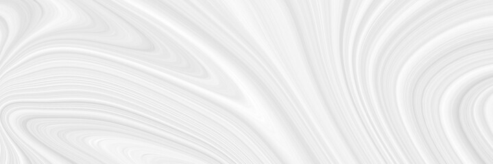 The background is white with a marble pattern with wavy eels. Panorama of a beautiful light template for creative projects.