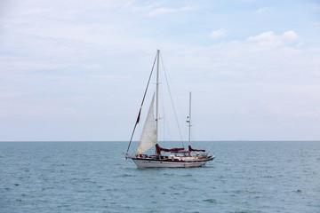 Sailboat and Ocean, Panamá - Pearl Islands