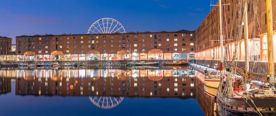 Albert Dock Liverpool England