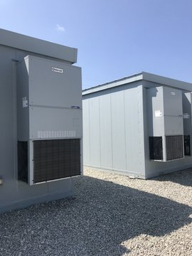 Energy Storage Facility with Batteries
