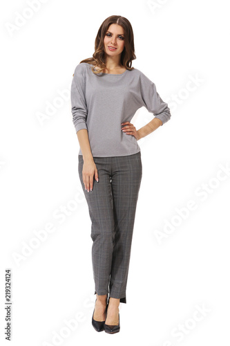 098635d61da business woman executive posing in casual clothes