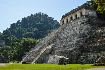 Pyramiden von Palenque 2; Maya-Stätte, Mexiko