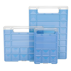 Freezer Blocks for cooler boxes or bags, 3D rendering