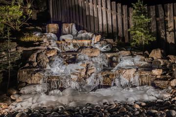 Frozen Water Feature
