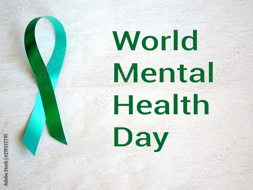 Green Ribbon Mental Health Awareness