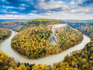 Letchworth from the sky