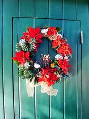 Christmas wreath クリスマスリースハワイ