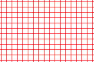 Plaid, check pattern red and white. Simple background