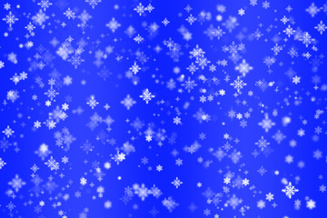 Christmas background, screensaver for Christmas and new Year greetings, blue background