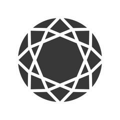 diamond, jewelry set icon glyph design