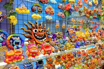 Local souvenir represent Japan Okinawa (lucky lion)