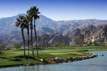Pga West golf course, Palm Springs, California