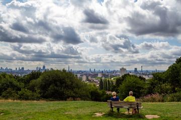 London Skyline from Hampstead Heath