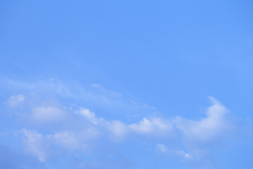 beautiful blue sky with clouds background.Sky with clouds weather nature cloud blue.