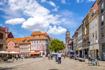 Göttingen, Fussgängerzone