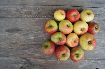Äpfel  alte Sorte,apfel, obst, essen, rot, isoliert, gesund, frisch, weiß, reif, green, saftig, diät, süss, gesundheit, frische, natur, vegetarier, auflösungszeichen, köstlich, bio, vitamin, gelb