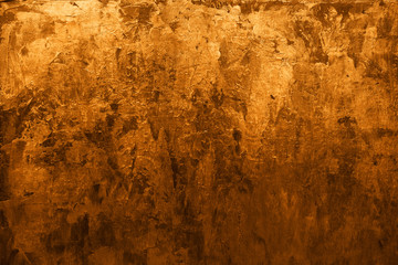 Golden abstract metal background