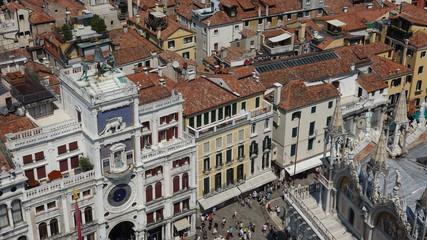 Place Saint-Marc à Venise vue du Campanile