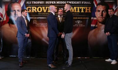 World Boxing Super Series Press Conference - George Groves & Callum Smith
