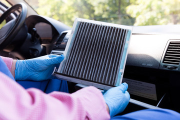 Automotive cabin air filter