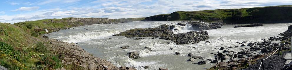 panorama de la cascade