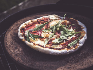 how to make the best homemade grilled pizza