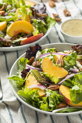 Healthy Homemade Peach Salad