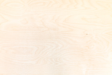 wooden background from natural birch plywood Wall mural