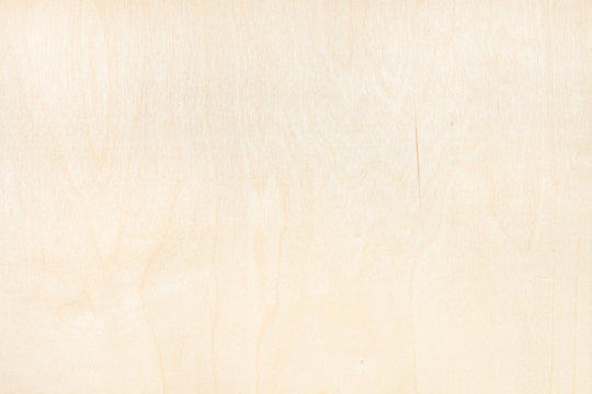 background from natural birch plywood