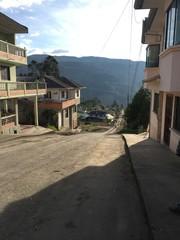 Overlook of Paute, Ecuador