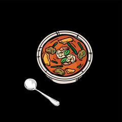 thai food Thai Curry Orange