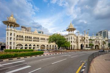 Kuala Lumpur railway station in kuala lumpur, malaysia