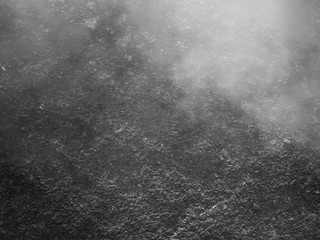 Fog on the stone rock surface texture