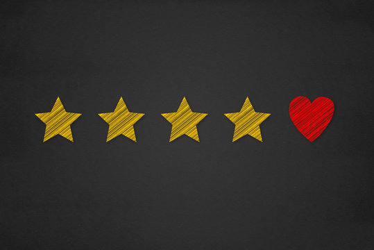 Customer Experience Concept, Best Excellent Services Rating for Satisfaction present