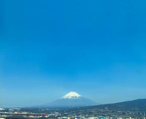 富士山と大空