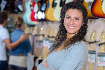 variety of guitars