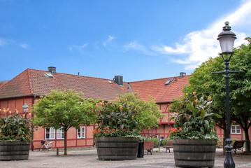 Ystad, City, Oldtown, Schweden