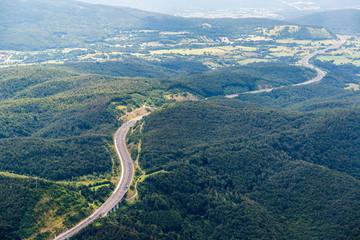 Autobahn nach Piran