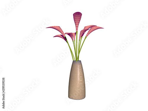 Vase Mit Schönen Blumen