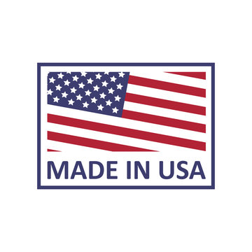 Made in USA logo on a white background