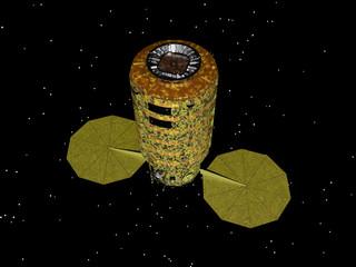Satelliten im Weltraum