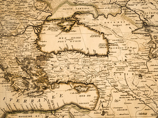 古地図 トルコ