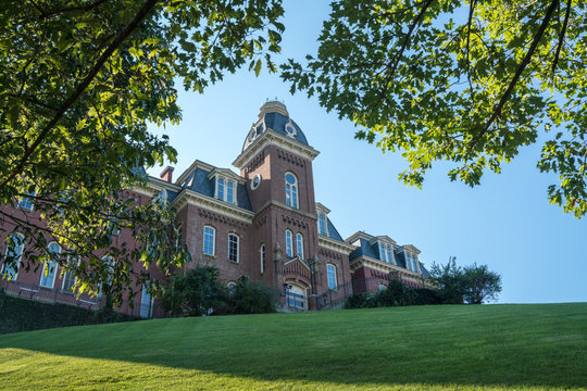 Woodburn Hall at West Virginia University in Morgantown WV