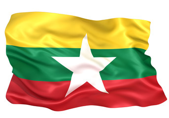 ミャンマー国旗