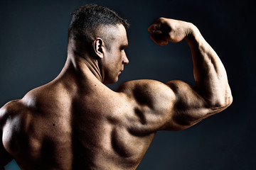 bronze powerful body