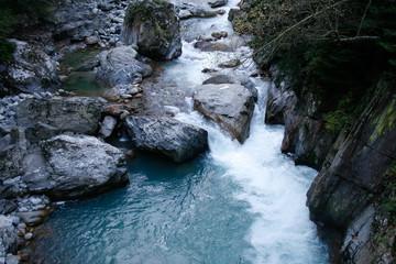 Klarer Fluss im Vercascatal