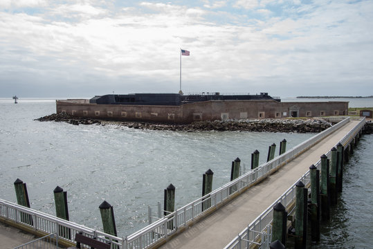 Dock at Fort Sumter