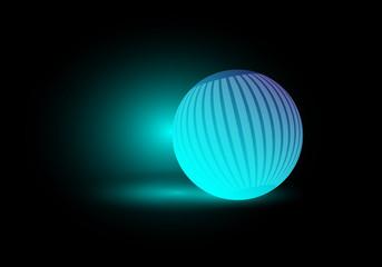 glowing decorative light bulbs vector eps 10